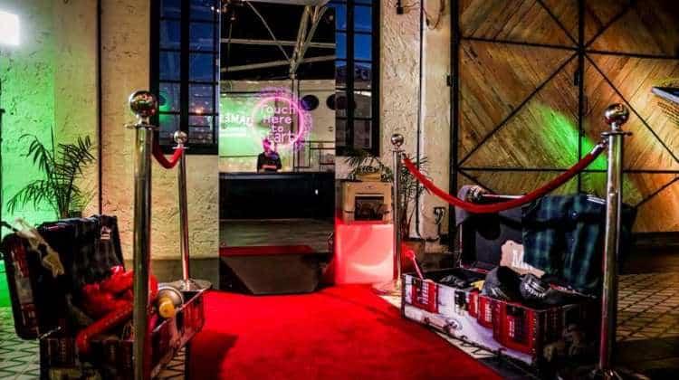photo booth rdeča preproga