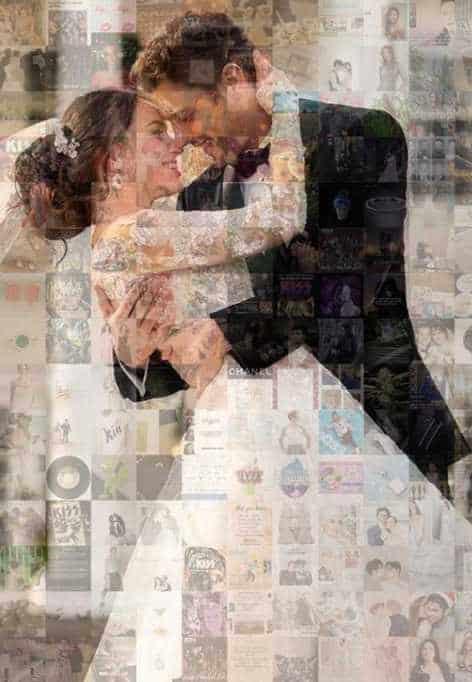 ženin in nevesta na poroki