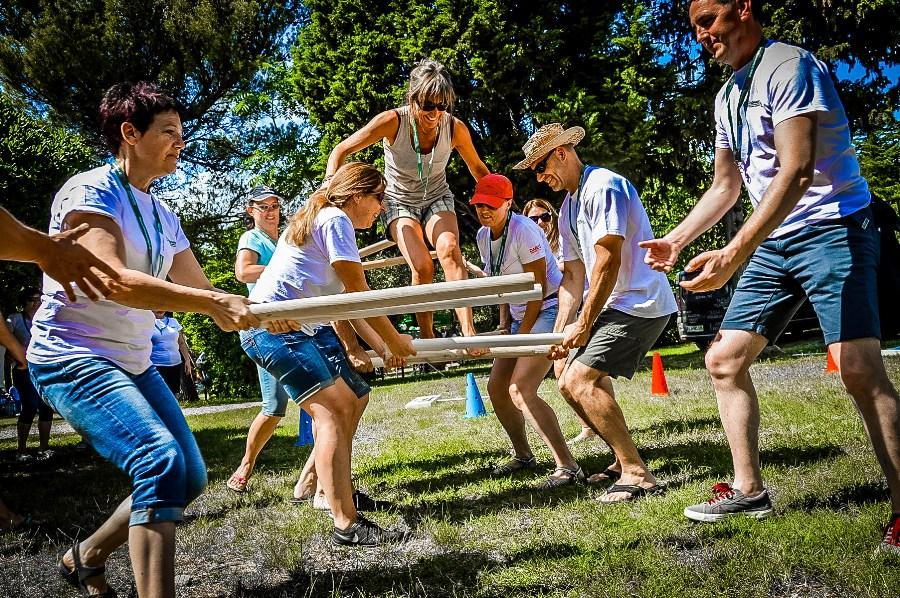 moon walk igre brez meja, team building