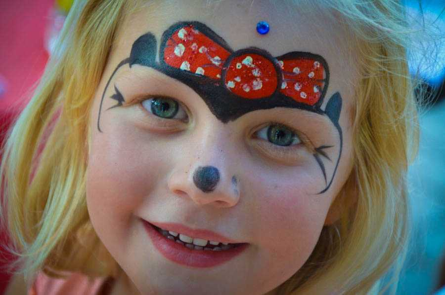 poslikava obraza za otroke