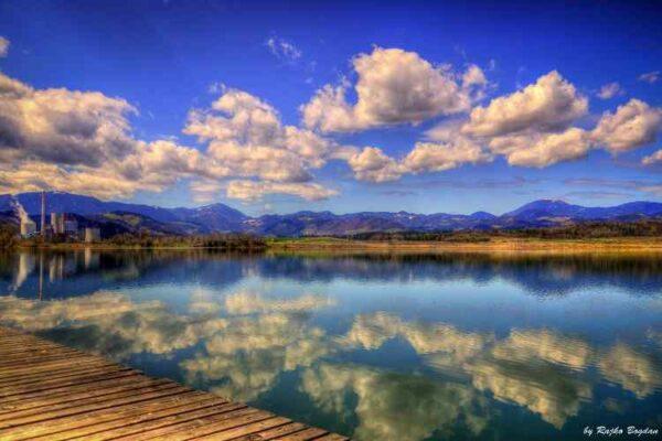 lokacije za team building velenjsko jezero