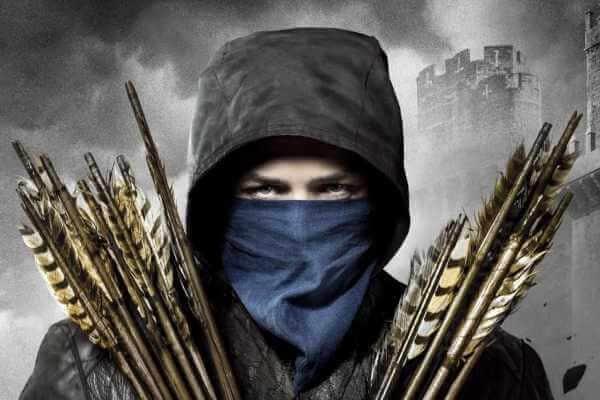 Lik Robin Hood-a, ki predstavlja lokostrelca kot simbol za team building turnir